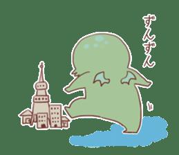 Cute Cthulhu sticker #13514728