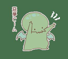Cute Cthulhu sticker #13514729