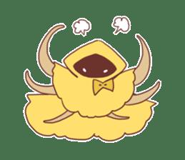 Cute Cthulhu sticker #13514736