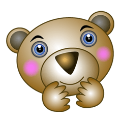 Silly brown Bear