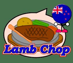 World Foods Restaurant ! Vol.2 sticker #13519183
