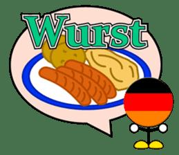World Foods Restaurant ! Vol.2 sticker #13519189