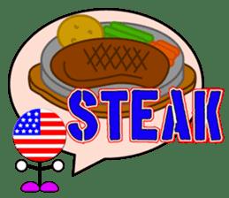 World Foods Restaurant ! Vol.2 sticker #13519193