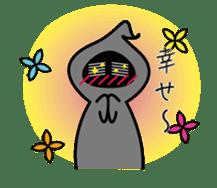 Mr. Death and pleasant souls sticker #13519254