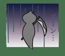 Mr. Death and pleasant souls sticker #13519260