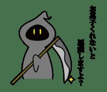 Mr. Death and pleasant souls sticker #13519283