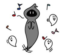 Mr. Death and pleasant souls sticker #13519285