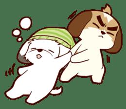 2 Shih Tzu Brothers V.2-Cheer Up! sticker #13523767