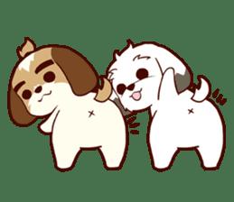 2 Shih Tzu Brothers V.2-Cheer Up! sticker #13523768