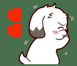 2 Shih Tzu Brothers V.2-Cheer Up! sticker #13523773