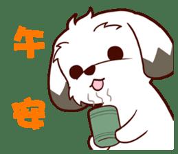 2 Shih Tzu Brothers V.2-Cheer Up! sticker #13523775