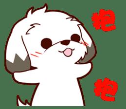 2 Shih Tzu Brothers V.2-Cheer Up! sticker #13523781
