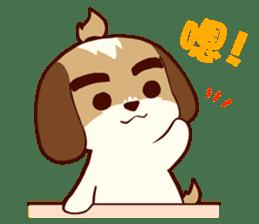 2 Shih Tzu Brothers V.2-Cheer Up! sticker #13523786