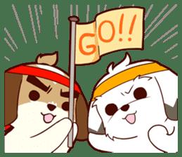 2 Shih Tzu Brothers V.2-Cheer Up! sticker #13523792