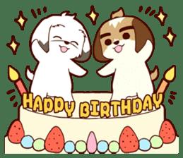 2 Shih Tzu Brothers V.2-Cheer Up! sticker #13523797