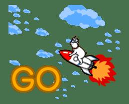 Horn Dog Animation sticker #13526376