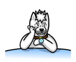 Horn Dog Animation sticker #13526377