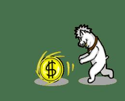 Horn Dog Animation sticker #13526381