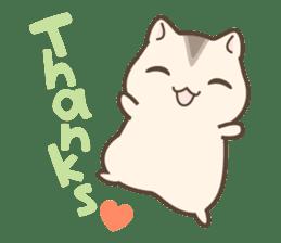 winsome hamster! sticker #13534487