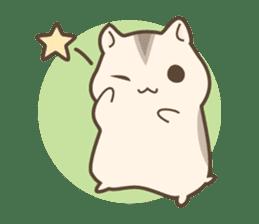 winsome hamster! sticker #13534491