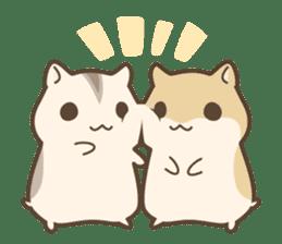 winsome hamster! sticker #13534492