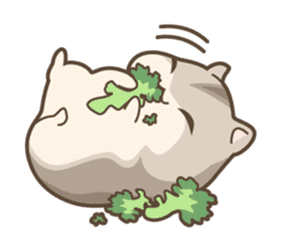 winsome hamster! sticker #13534505