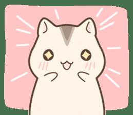winsome hamster! sticker #13534510