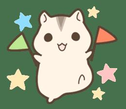 winsome hamster! sticker #13534517