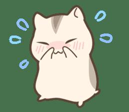 winsome hamster! sticker #13534519
