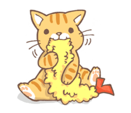 tora-neko-kun sticker #13539202