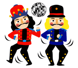 Nutcracker sticker #13544192