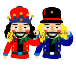 Nutcracker sticker #13544199