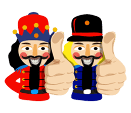 Nutcracker sticker #13544201