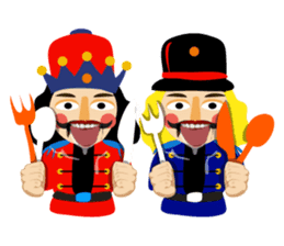 Nutcracker sticker #13544206
