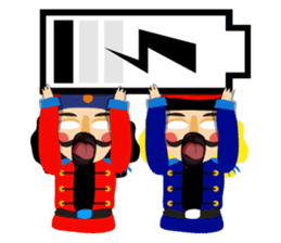 Nutcracker sticker #13544219