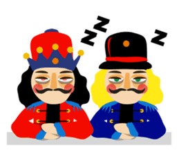 Nutcracker sticker #13544220