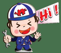 I am mechanic V.2 sticker #13546094