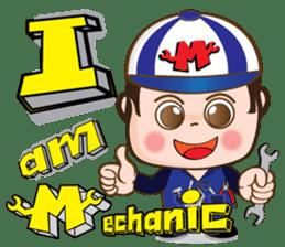 I am mechanic V.2 sticker #13546095