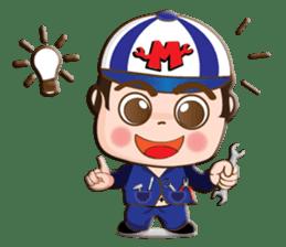 I am mechanic V.2 sticker #13546101