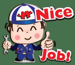 I am mechanic V.2 sticker #13546102