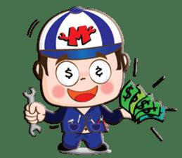 I am mechanic V.2 sticker #13546125