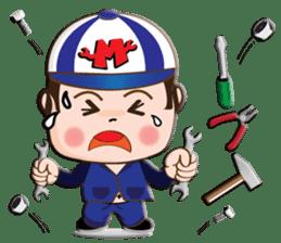 I am mechanic V.2 sticker #13546129