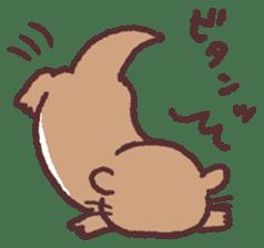 cute little otter sticker #13549033