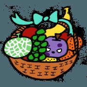 สติ๊กเกอร์ไลน์ Poison Apple Sticker