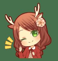 kemomimi girl animated sticker #13556697