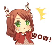 kemomimi girl animated sticker #13556701