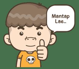 Togar si Anak Batak sticker #13559820