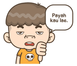 Togar si Anak Batak sticker #13559821