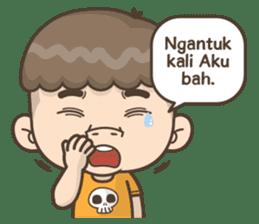 Togar si Anak Batak sticker #13559822