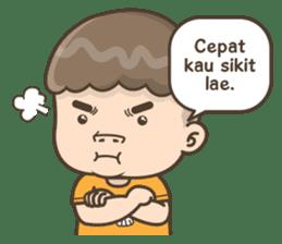 Togar si Anak Batak sticker #13559824